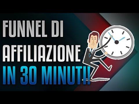 Funnel di Affiliate Marketing Con ClickFunnels in 30 Minuti