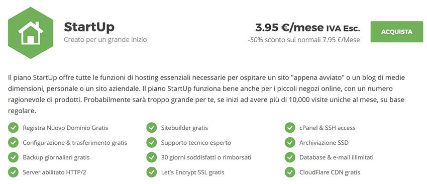 hosting wordpress startup