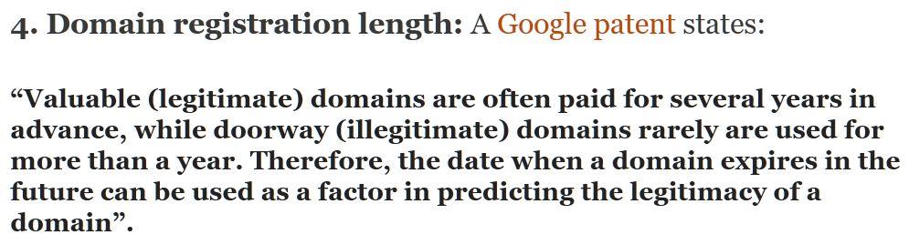 lunghezza periodo registrazione dominio e hosting